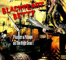 Pirate Blackheart Betty by Shanina Conway