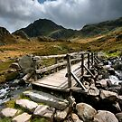 North Wales : Bridge to Tryfan by Angie Latham