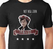 Sherlock on a case Unisex T-Shirt