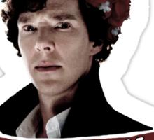 Sherlock on a case Sticker