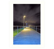 Kwinana Beach Jetty  Art Print
