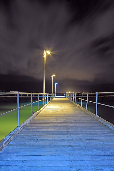 Kwinana Beach Jetty  by EOS20