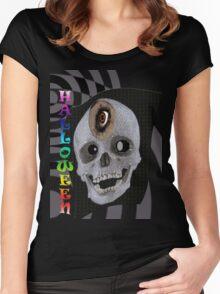 HALLOWEN Women's Fitted Scoop T-Shirt