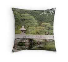 Korakuen Garden Throw Pillow