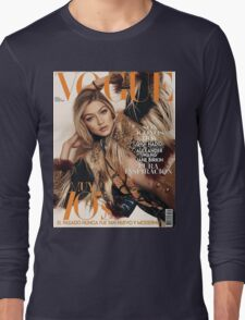 Gigi Hadid Vogue Cover Long Sleeve T-Shirt