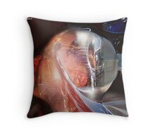 Auto distortion Throw Pillow