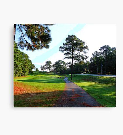 Number Four Alpine Bay Golf Club Canvas Print