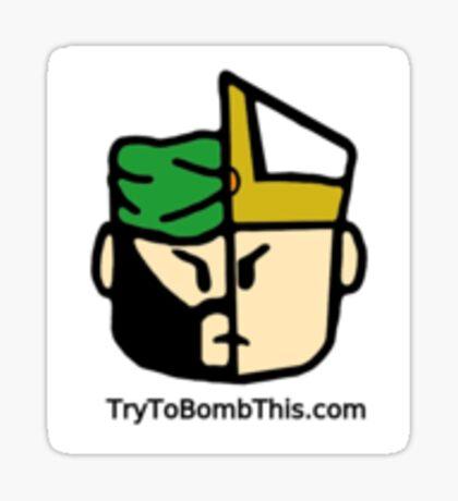 TryToBombThis.com  Religious Figure Sticker