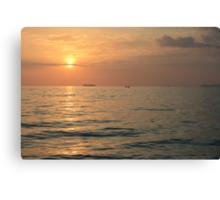 Asian Sunset Canvas Print