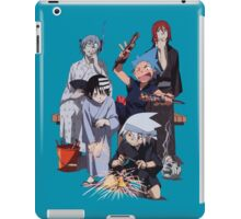 Fireworks with Soul Eater  iPad Case/Skin