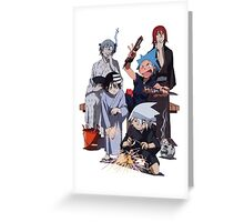Fireworks with Soul Eater  Greeting Card
