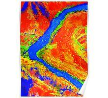 Ord River  Kimberleys Western Australia Poster