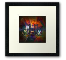 Gate Of The Gods - By The Rivers Of Babylon Framed Print