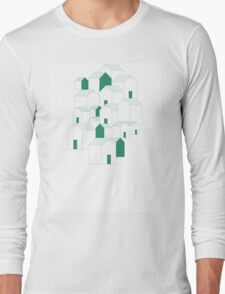 Hill Houses Long Sleeve T-Shirt