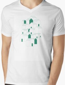 Hill Houses Mens V-Neck T-Shirt