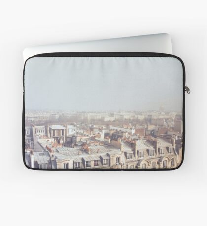 Paris Morning Rooftops Laptop Sleeve
