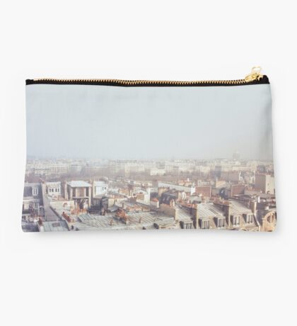 Paris Morning Rooftops Studio Pouch