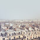 Paris Morning Rooftops by Janet Antepara