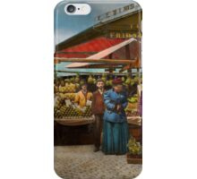 City - Lexington market, Baltimore, Maryland 1890 iPhone Case/Skin