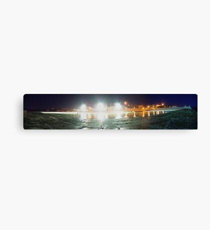 Newcastle Baths Panorama Canvas Print