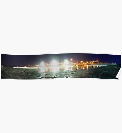 Newcastle Baths Panorama Poster