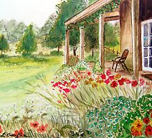 Cottage Garden by Linda Callaghan