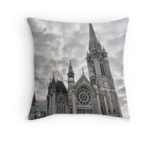 ST COLMANS CATHERDRAL  COBH Throw Pillow