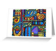 Lynne Neuman Abstract #et0300 Greeting Card
