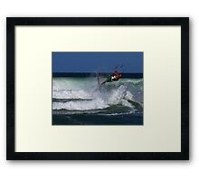 Wind Rider Framed Print