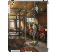 Firemen - Answering the firebell 1922 iPad Case/Skin