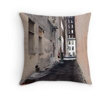 Another Alley Throw Pillow