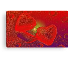 That's not the shape of my heart-Abstract Art + Design products Canvas Print