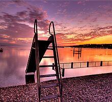 Slide to Lake by David Freeman