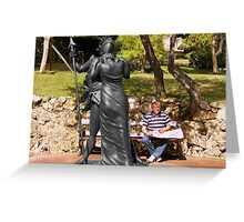 Love of the armour Greeting Card