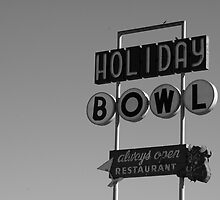 holiday bowl by Amy Greenberg
