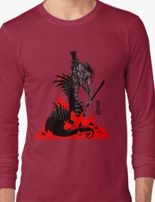 The Game of Kings, Wave Six: The Black Queen's Rook Long Sleeve T-Shirt