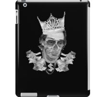Black and White Buscem Gem iPad Case/Skin