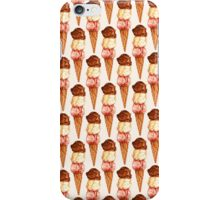 Neapolitan Triple Scoop Pattern iPhone Case/Skin