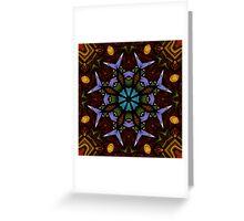 The Wheel of Life - Mandala Greeting Card