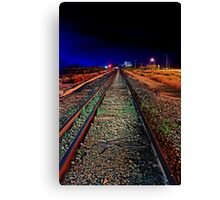 Down The Line  Canvas Print