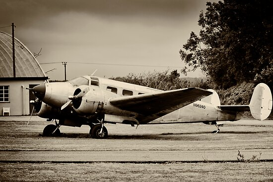 Beechcraft 18 Expeditor by Lea Valley Photographic
