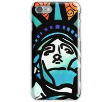 Lynne Neuman Statue of Liberty #et0098 iPhone Case/Skin