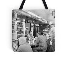 Eating Lunch at Depot Bottom Country Store Tote Bag