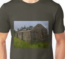 Stonework of a ruin Unisex T-Shirt