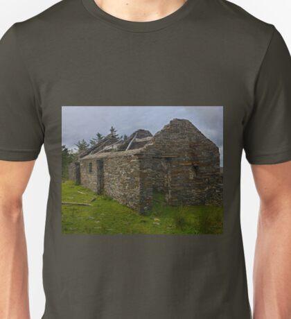 Stonework of a ruin Unisex T-Shirt