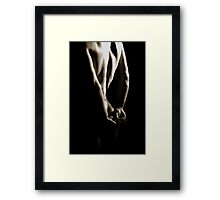 Naked Shadows Framed Print