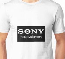 Sony Human Rights Abuse Unisex T-Shirt