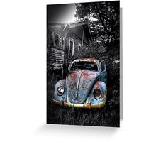 Volkswagen Beetle, Secret location, Melbourne,Victoria Greeting Card