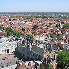 Brugge Old Town by Elena Skvortsova