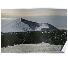 Sunset Crater Poster